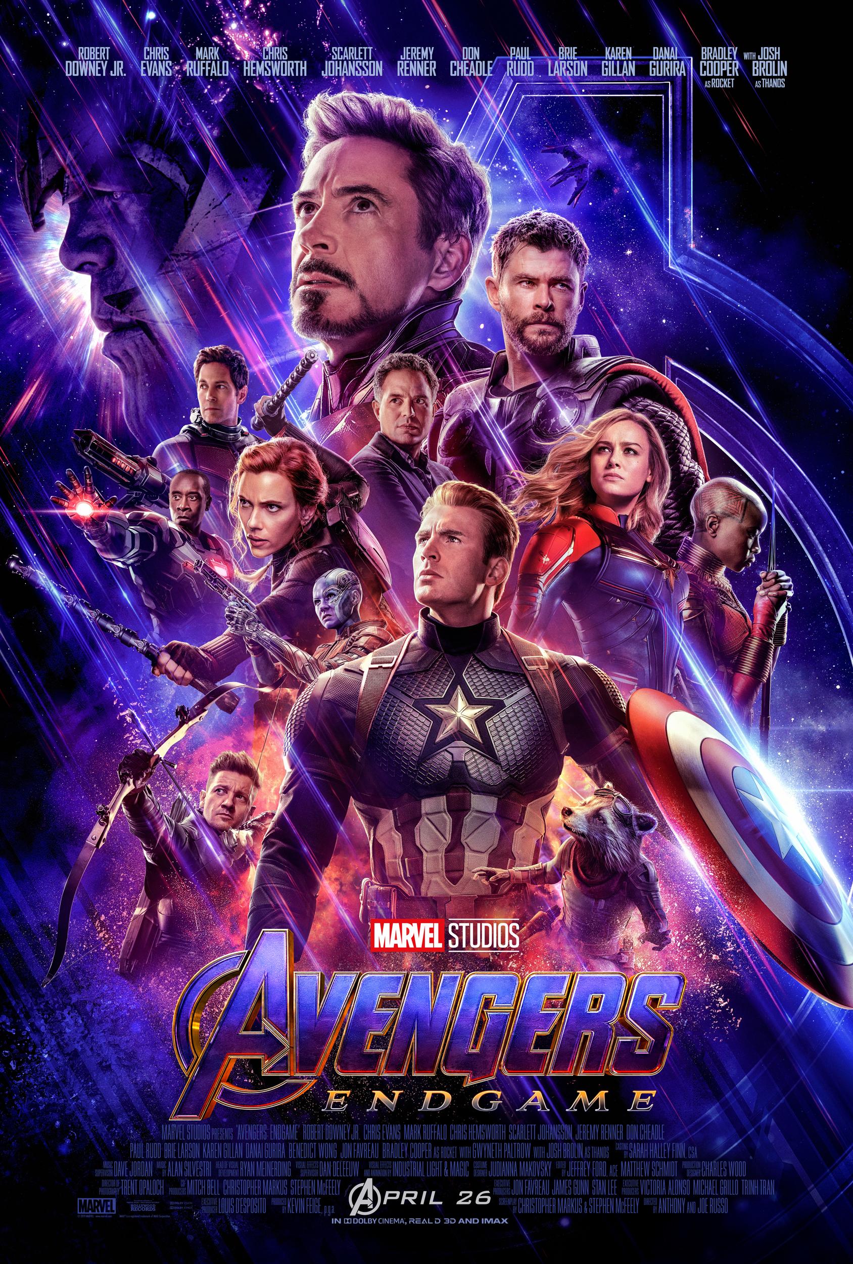 Avengers: Endgame Teaser Poster