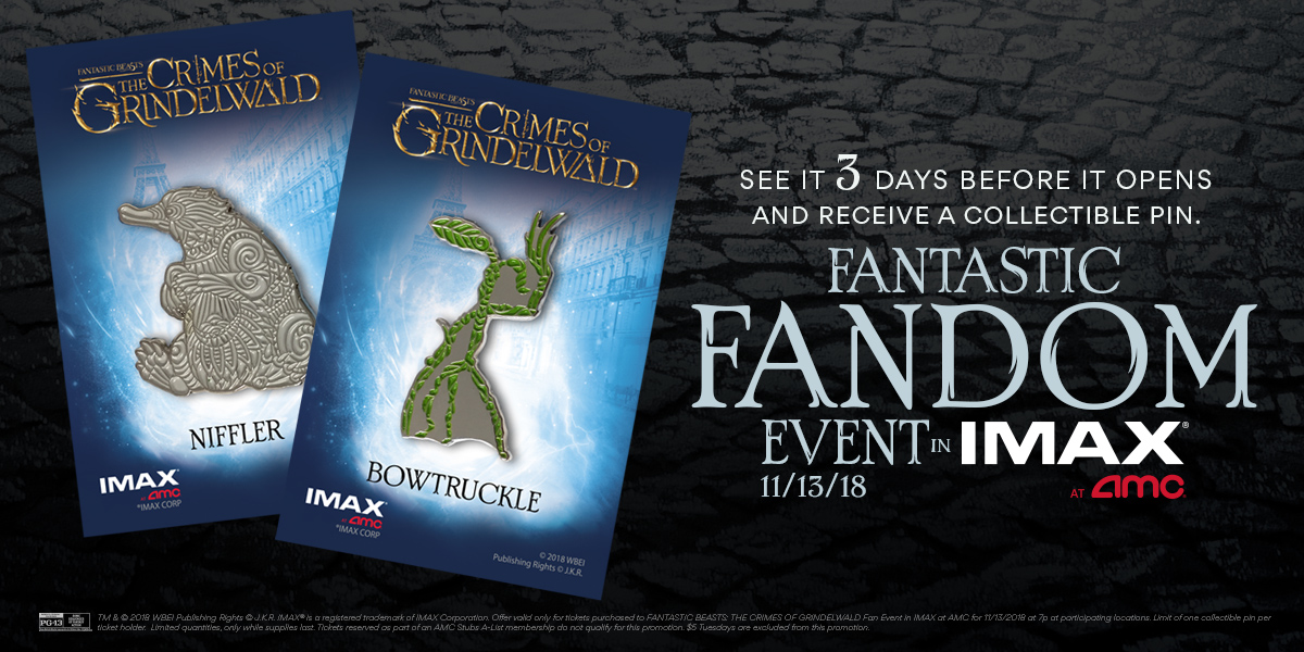Fantastic Fandom Event in IMAX at AMC