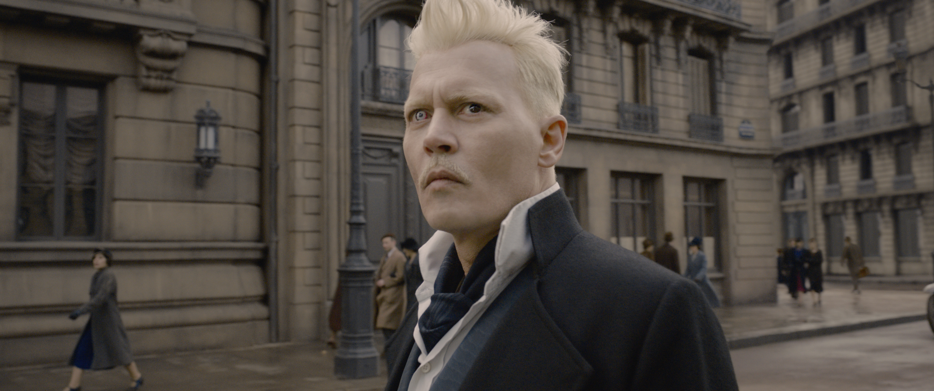Johnny Depp as Gellert Grindelwald
