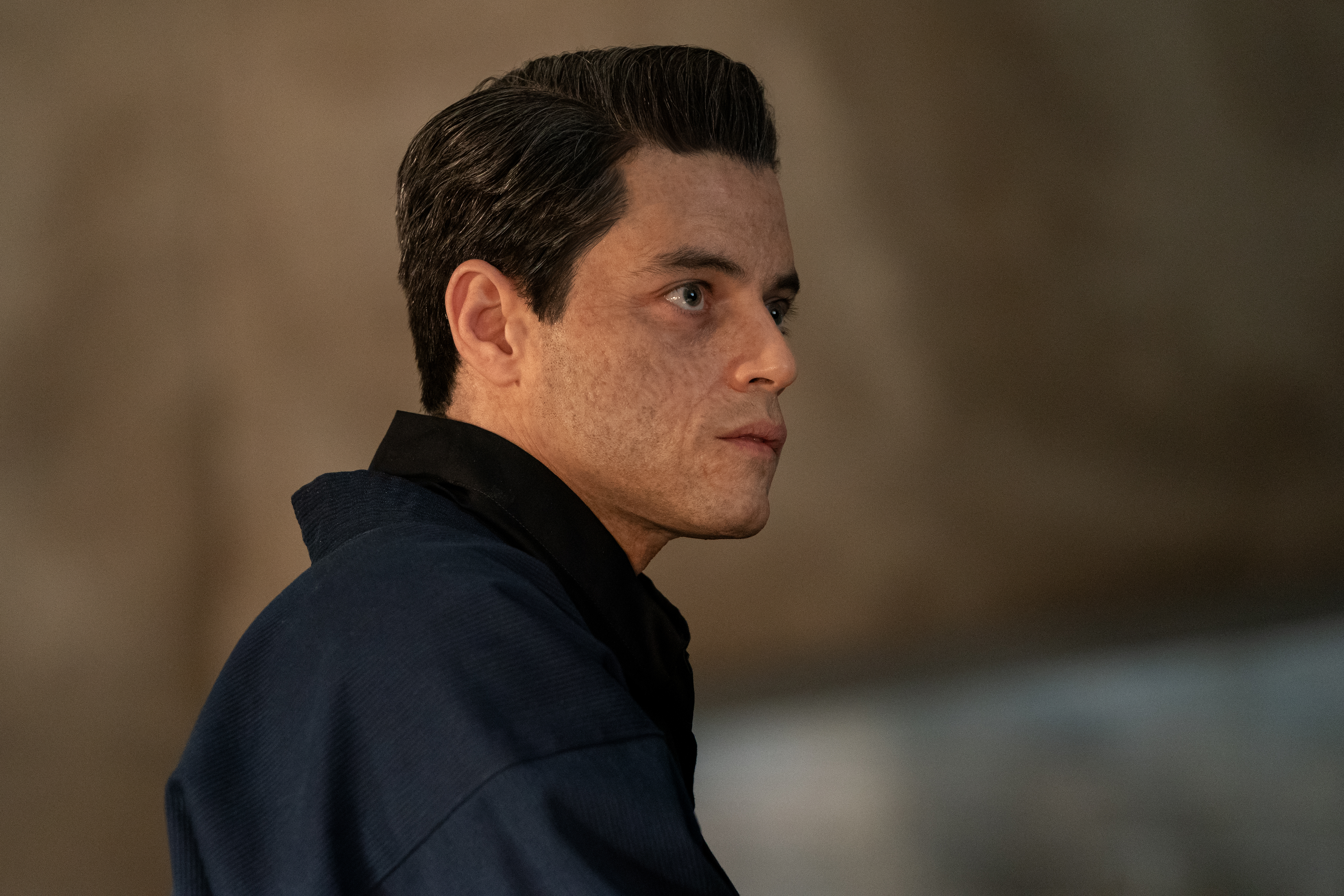 Rami Malek as Safin in No Time to Die