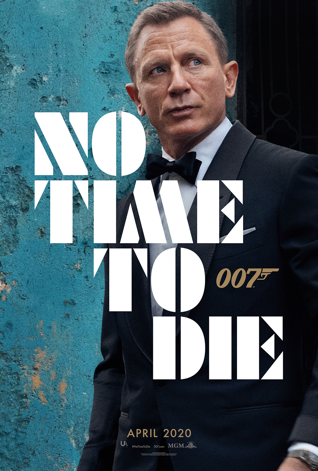 No Time To Die | Teaser Poster
