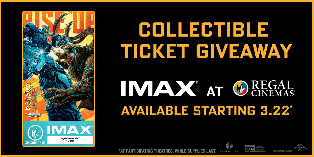 Pacific Rim Uprising - IMAX® Giveaways | IMAX Pacific Rim Imax Poster