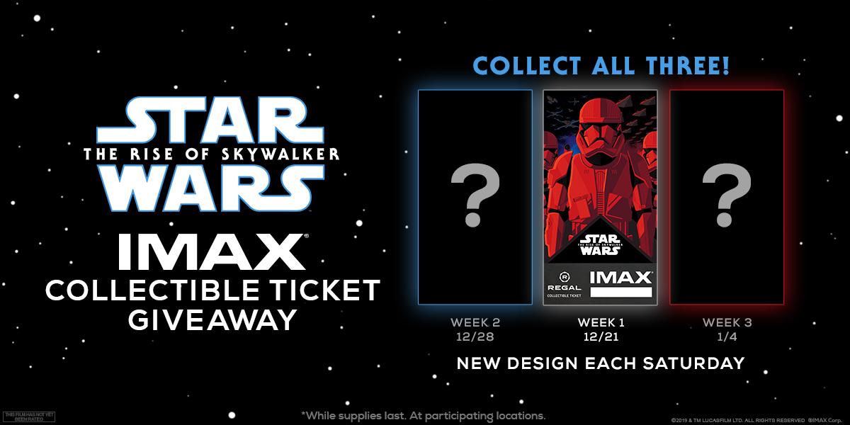 Star Wars Saturdays with IMAX at Regal