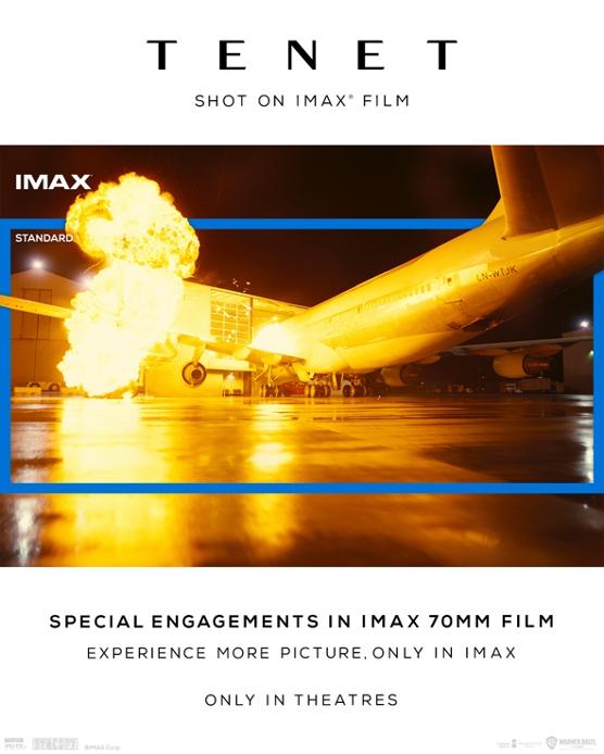 Tenet - IMAX Aspect Ratio