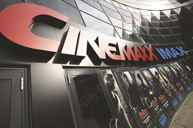 Opening on April 22 with Avengers: Age Of Ultron, the CinemaxX IMAX was Denmark's highest-grossing cinema site that weekend.