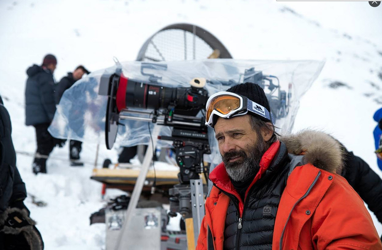 Director and producer Baltasar Kormákur on the set of 'Everest' PHOTO: UNIVERSAL PICTURES