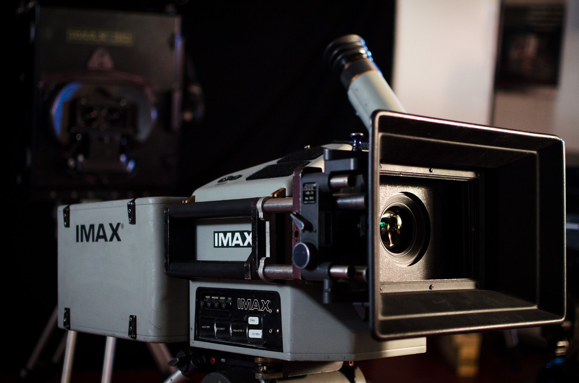 IMAX Camera used on the set of The Dark Knight Rises