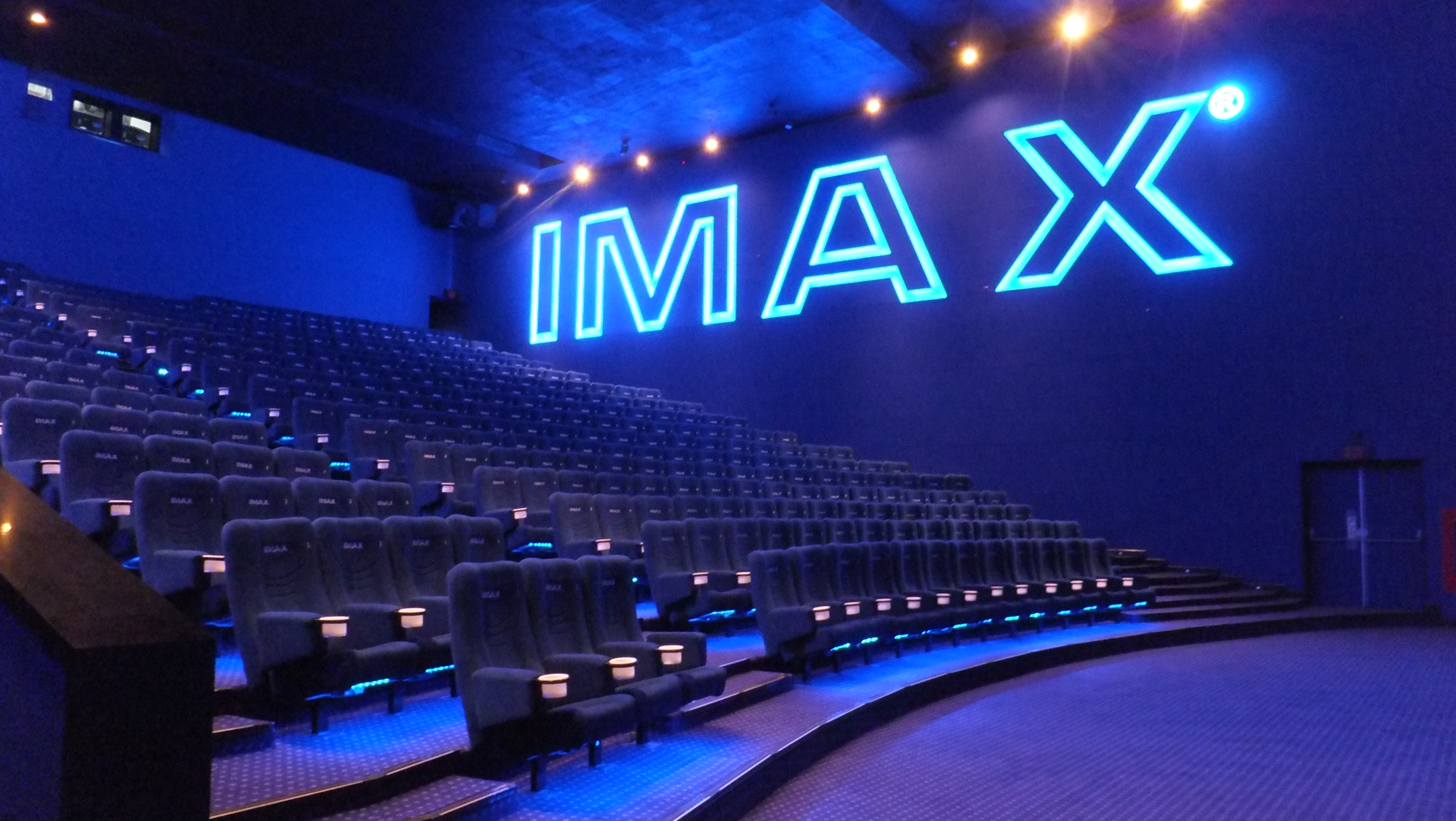 Inside IMAX theatre