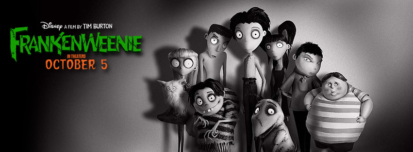 Cast of Frankenweenie