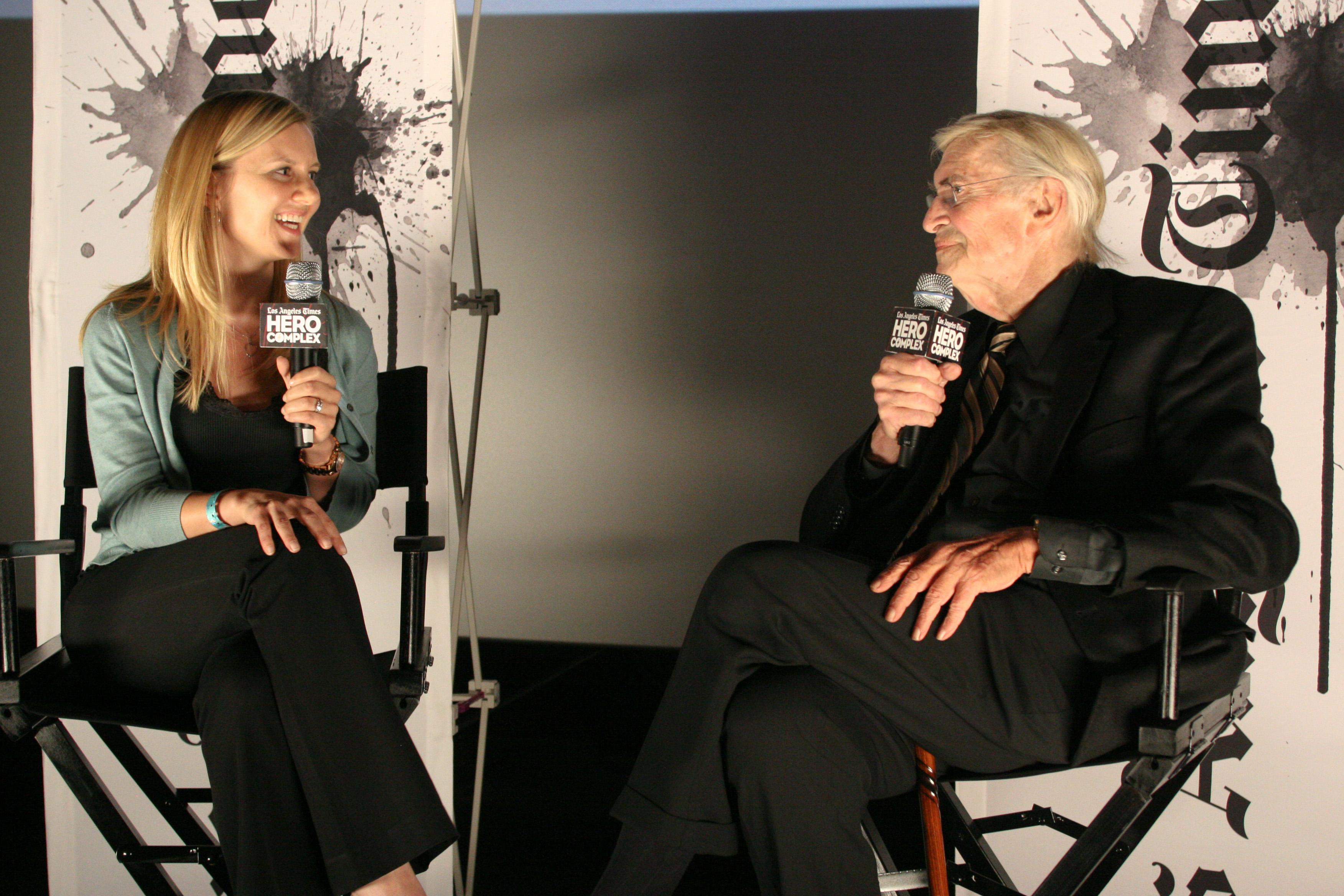Martin Landau Speaks About Frankenweenie