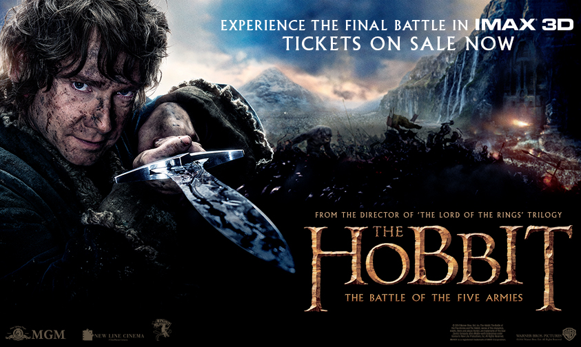 Hobbit 3 Advance Tix
