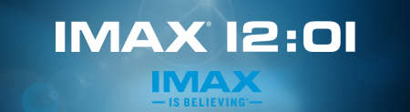 IMAX 12:01 Banner