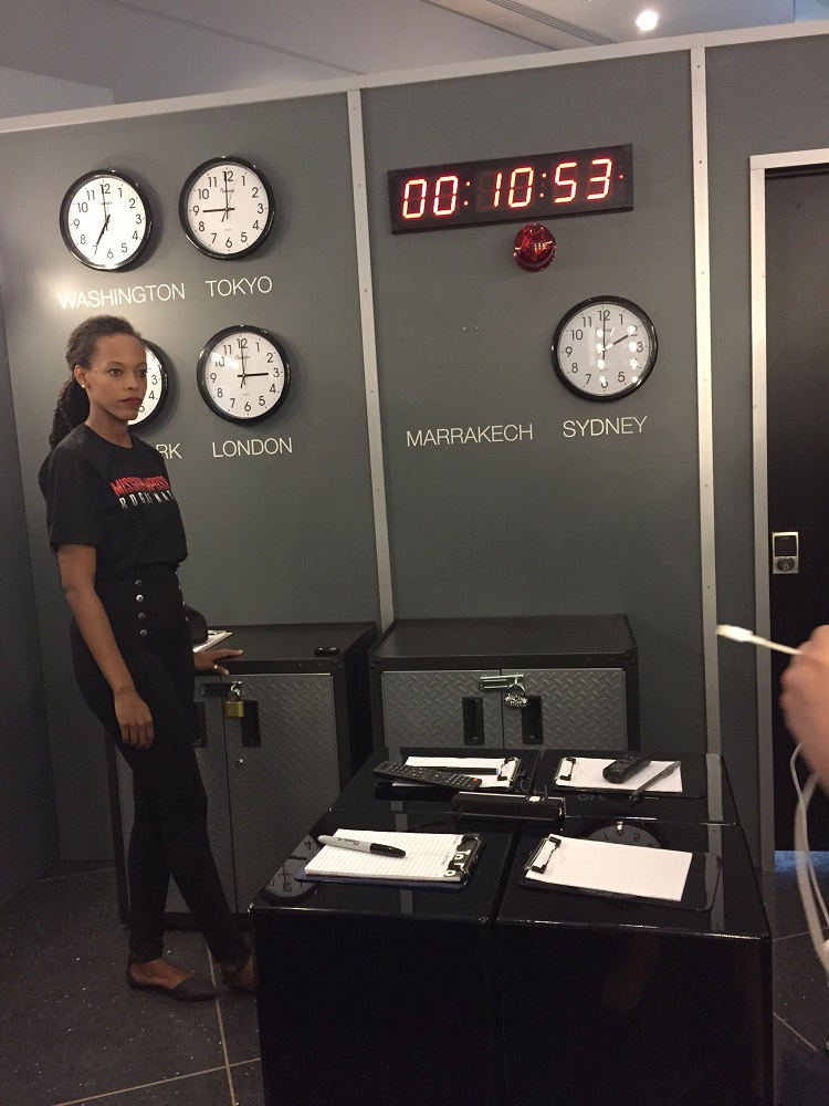Mission impossible room escape is here are you up for for The room escape