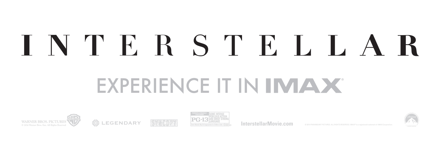 Interstellar Title Treatment