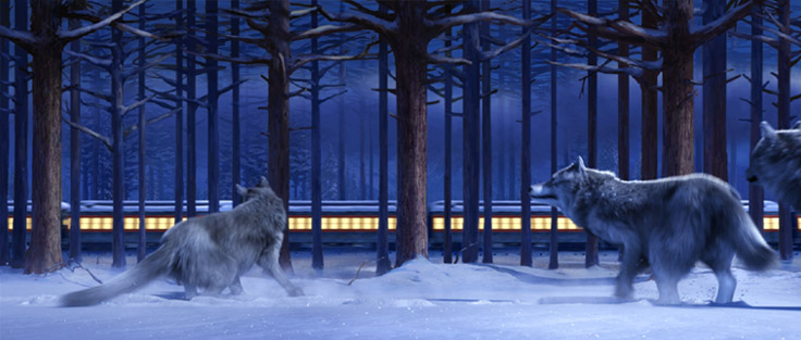 Scene from The Polar Express in IMAX 3D