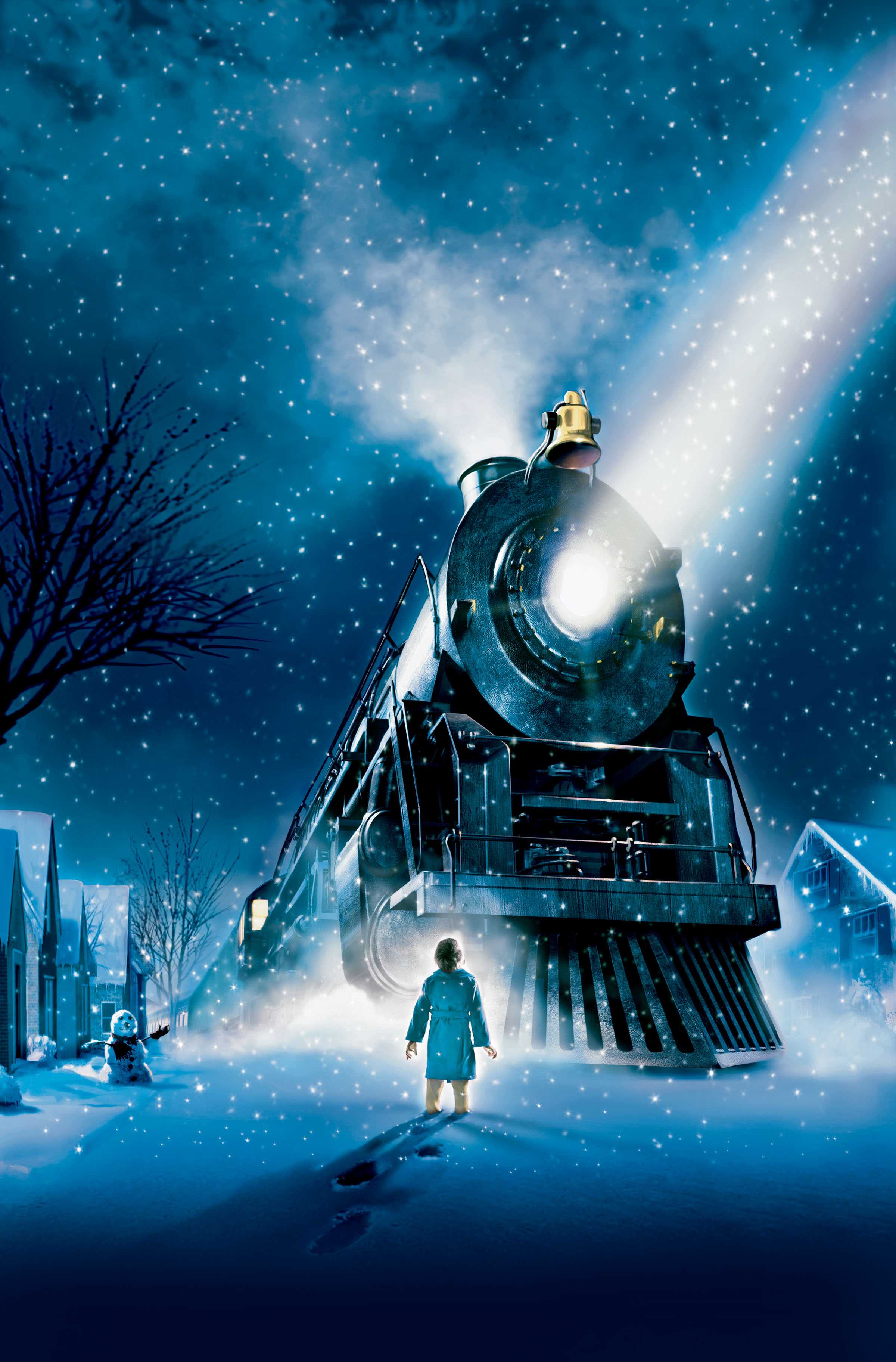 The Train from The Polar Express in IMAX 3D
