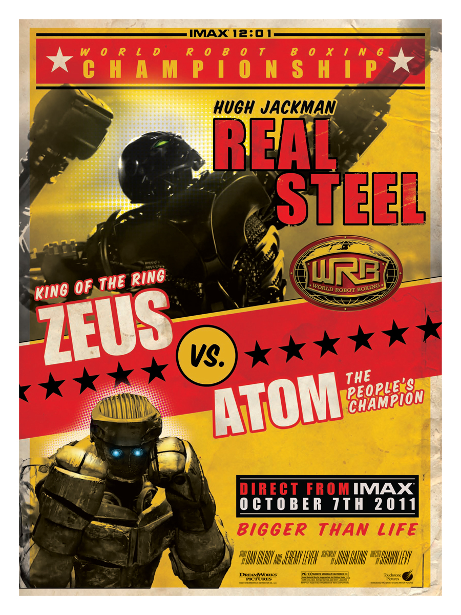 Real Steel IMAX 12:01