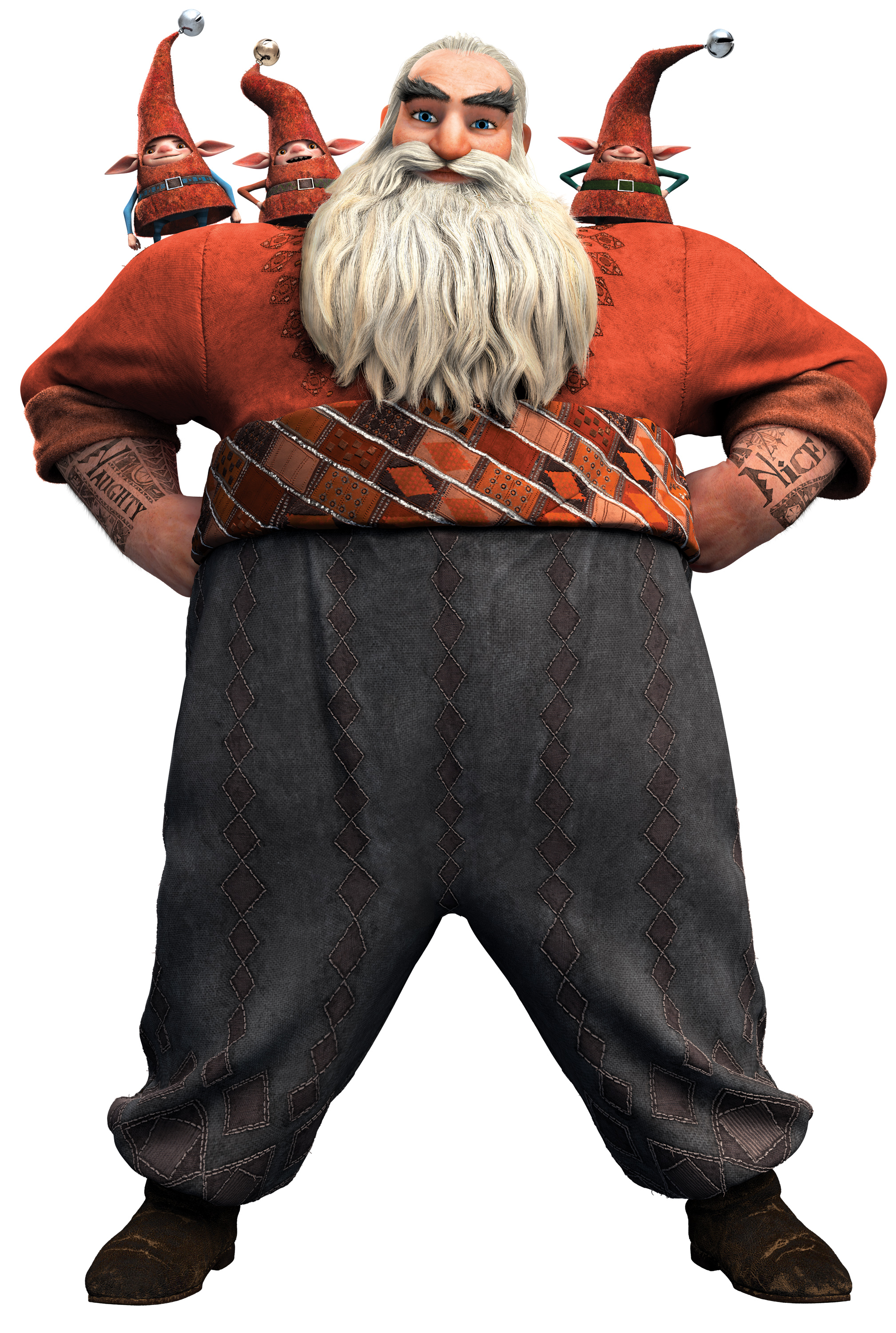 North aka Santa Claus of Rise of the Guardians