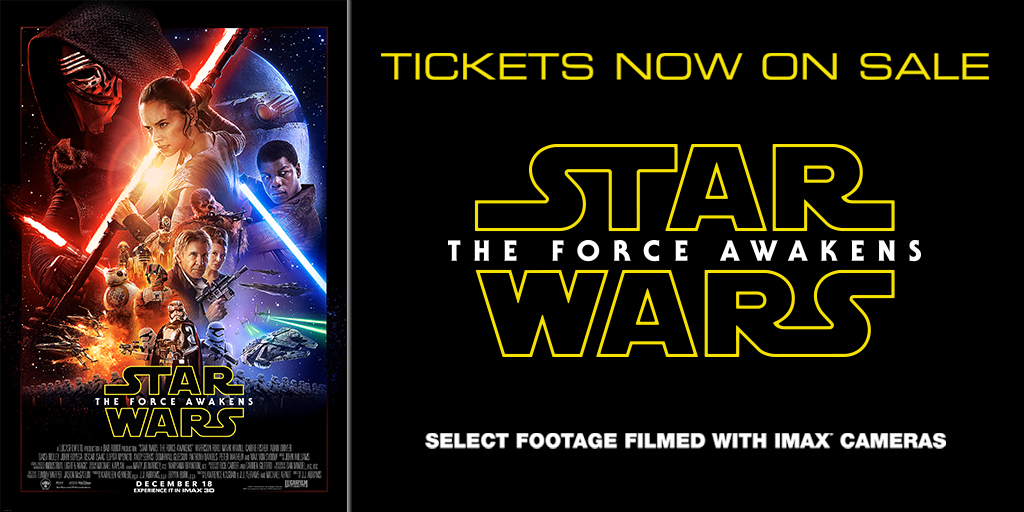 Star Wars tickets on sale today