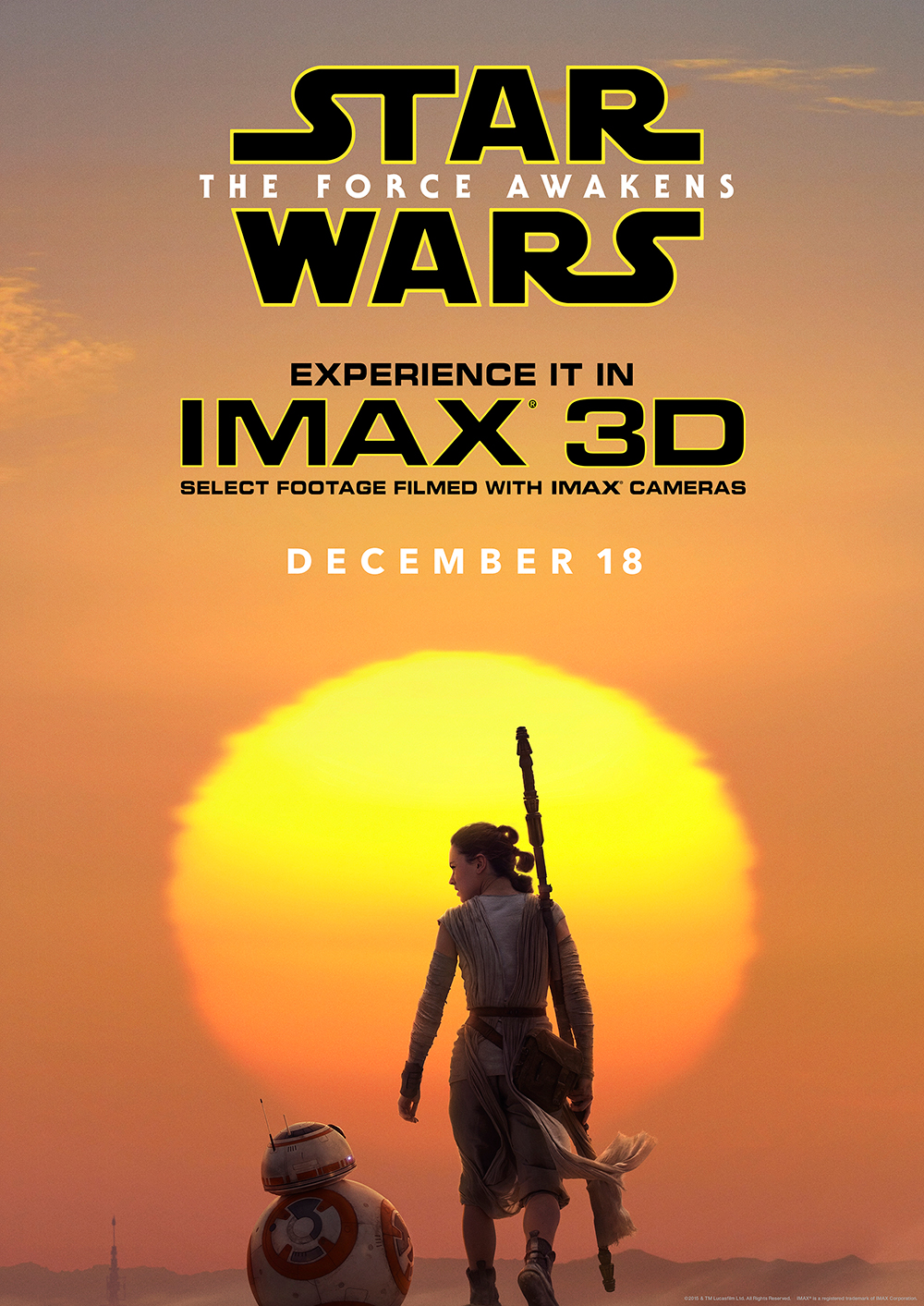 Star Wars IMAX Exclusive Art