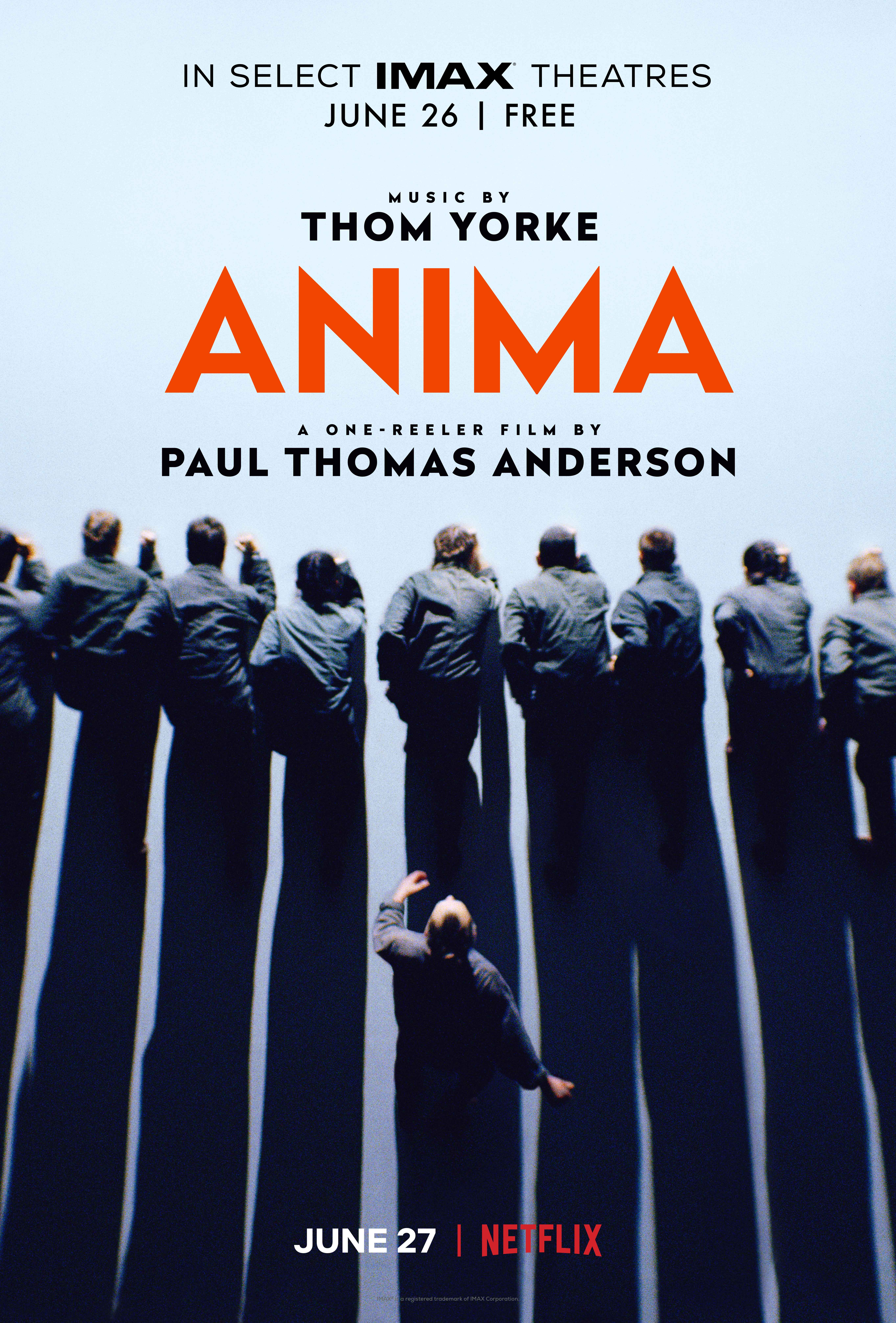 Thom Yorke - Anima Poster