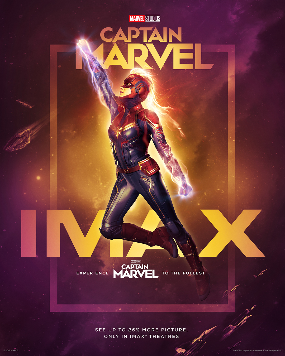 Captain Marvel - IMAX Exclusive Art