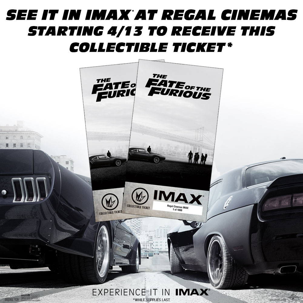 Regal Collector's Ticket