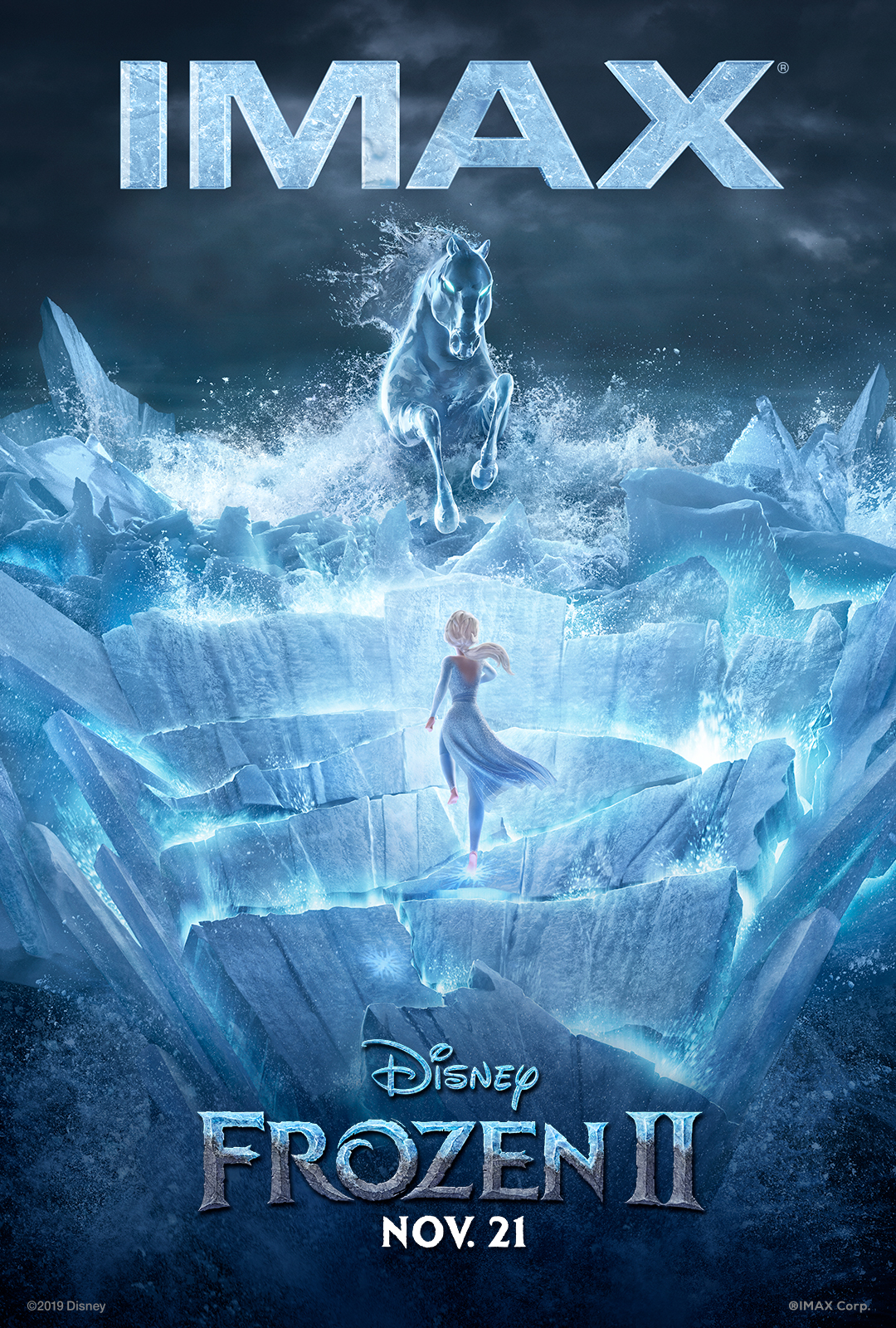 Frozen 2 IMAX Exclusive Art
