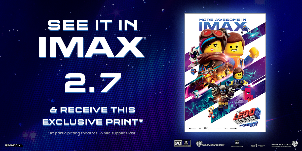 IMAX Mini Poster giveaway
