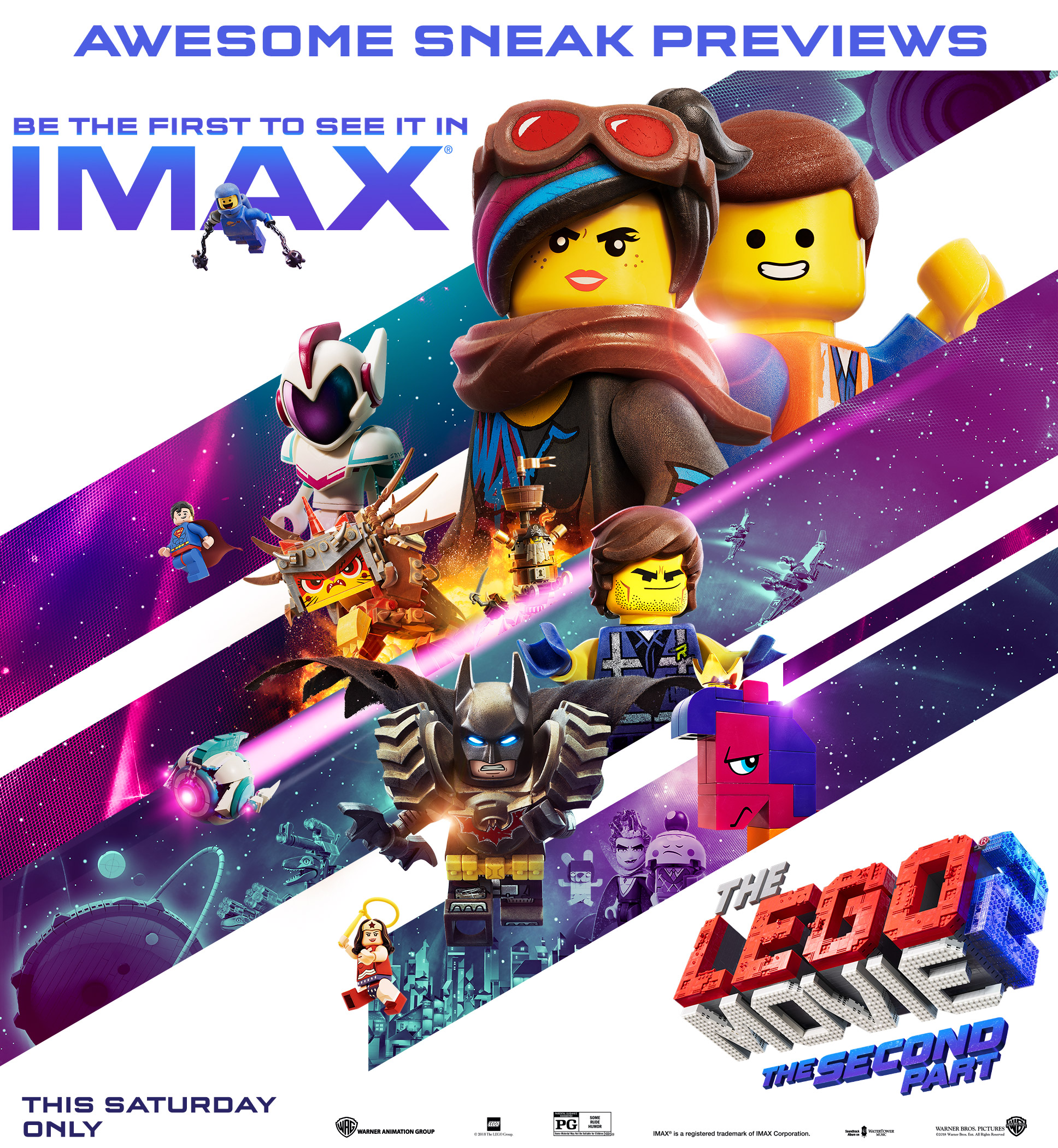 The LEGO Movie 2: The Second Part Awesome Sneak Previews