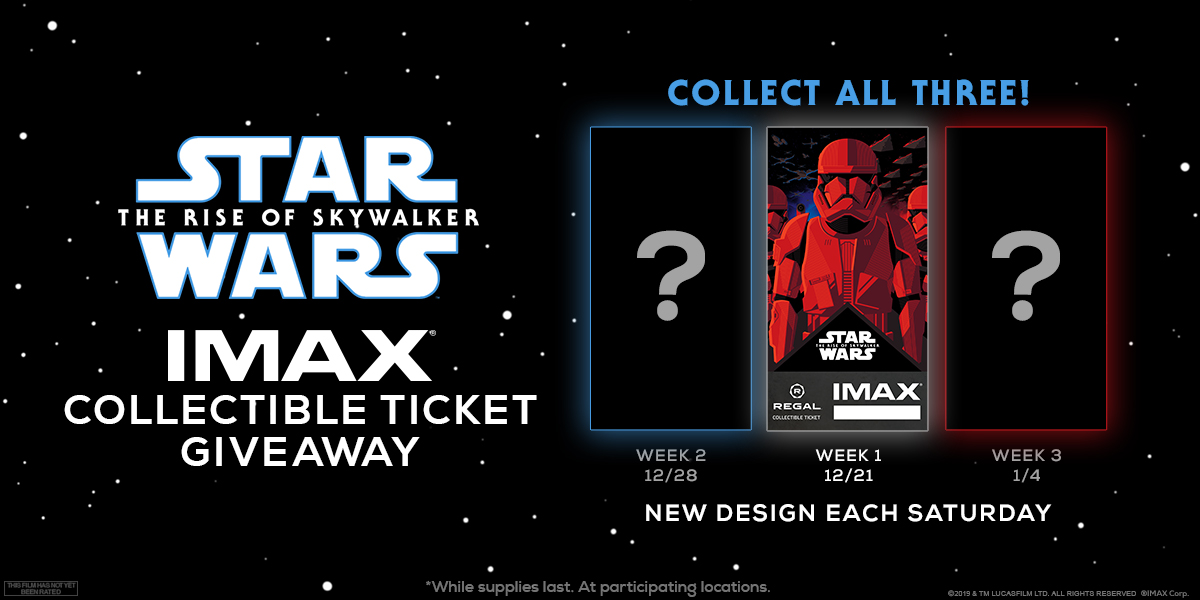 Star Wars Saturdays with IMAX at Regal
