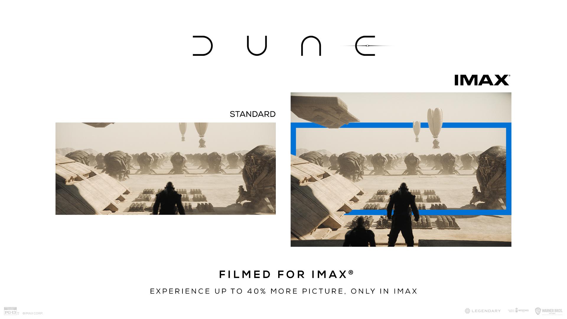 Dune | Filmed For IMAX | Warner Bros. Pictures 2021